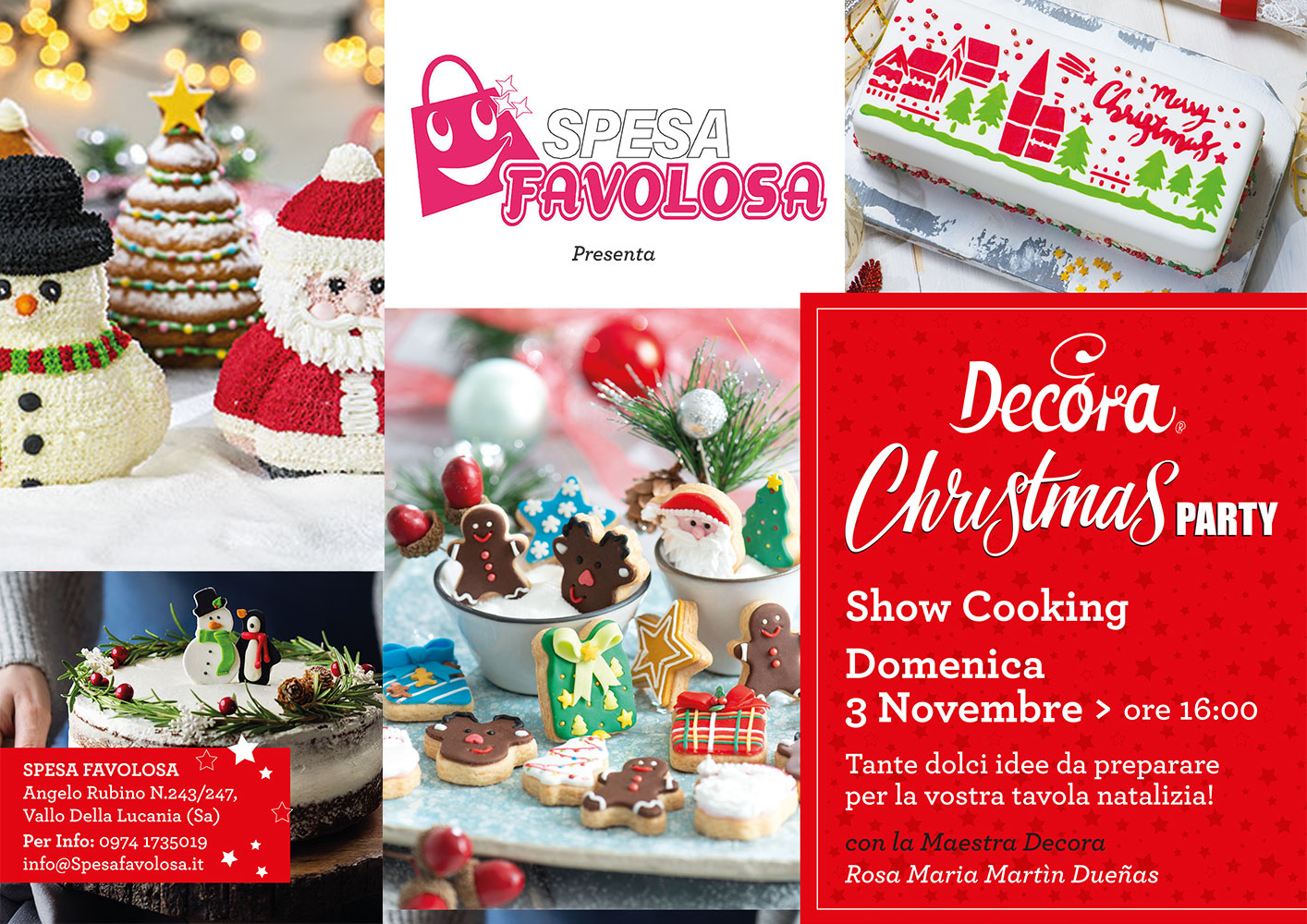 Decora Christmas Party Spesa Favolosa